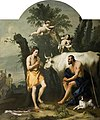 Argus Guarding Io Who Has Been Transformed into a White Heifer by Jacopo Amigoni.jpg
