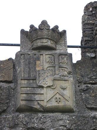 Château de Montcornet - Image: Armoiries Montcornet 2