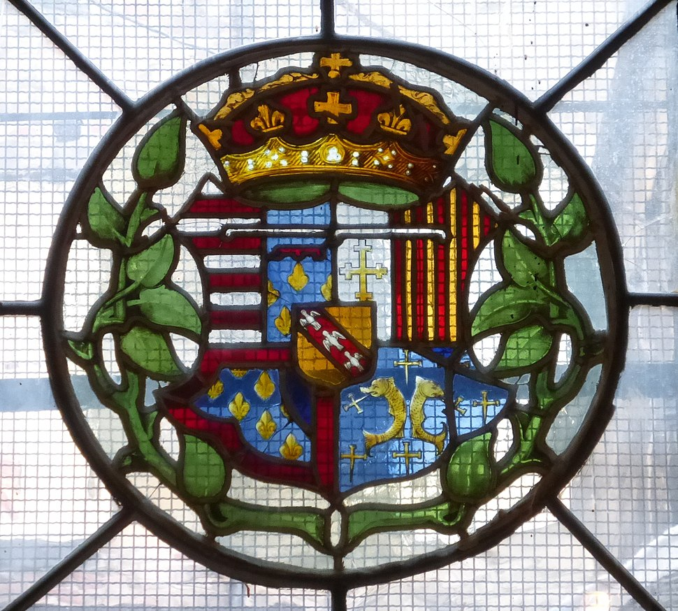 Arms of Mary of Guise, Magdalen Chapel, Edinburgh