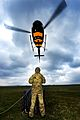 Army Reserves Underslung Load Training with Squirrel Helicopter MOD 45156921.jpg