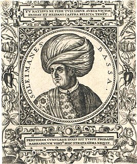 Hadım Suleiman Pasha Ottoman Grand Vizier and governor