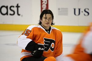 Arron Asham - Arron Asham with the Flyers.
