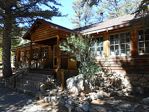 National Register of Historic Places listings in Larimer County, Colorado - Image: Arrowhead Lodge 1 2013 Sep 28