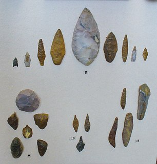 Neolithic Archaeological period, last part of the Stone Age