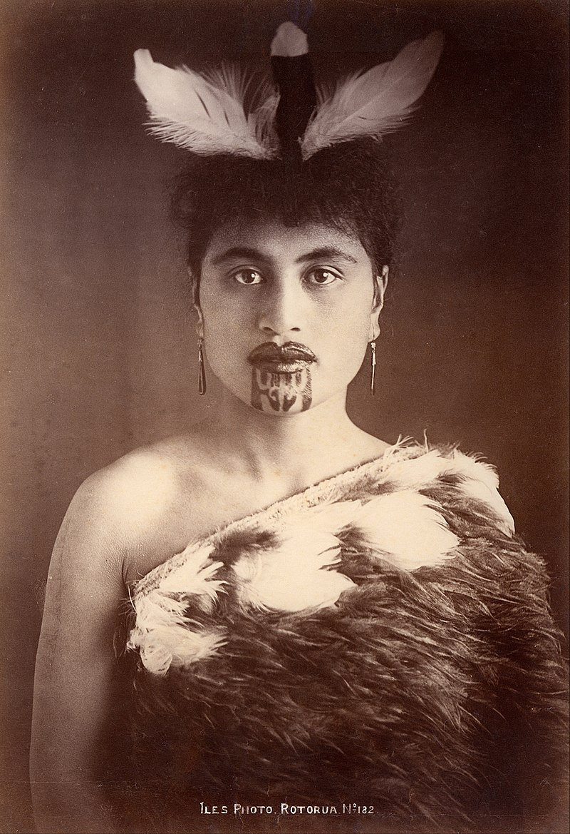 Arthur James Iles - Maori woman, Rotorua, New Zealand - Google Art Project (432338).jpg
