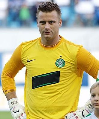 Artur Boruc - Boruc playing for Celtic in 2009