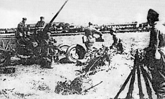 Battle of Lwów (1939) - Polish Anti-aircraft Bofors 40 mm Lwów 1939