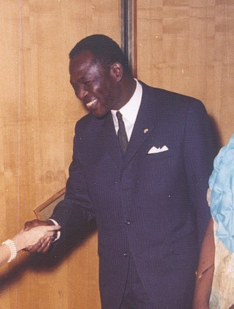 Minister of Foreign Affairs (Chad) - Image: As Amassador in Germany 1966