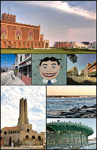 Asbury Park, New Jersey - Image: Asbury Montage