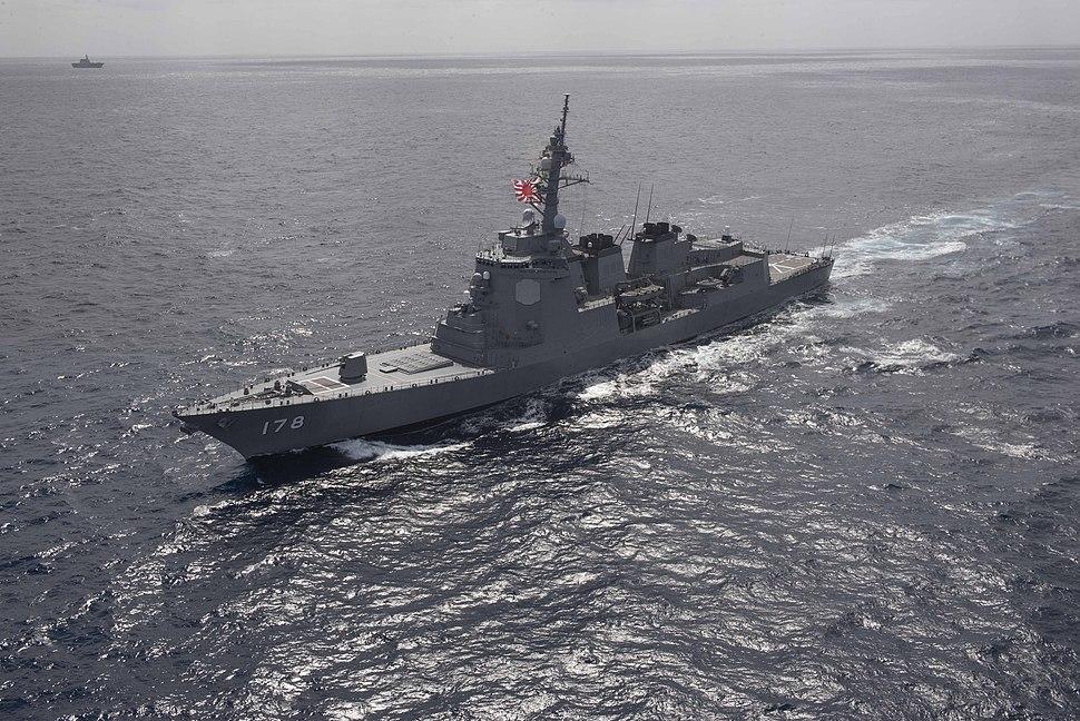 Ashigara (DDG-178) in de Stille Oceaan tijdens Dawn Blitz 2015, -4 september 2015 a