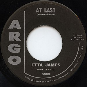 At Last - Image: At Last Etta James