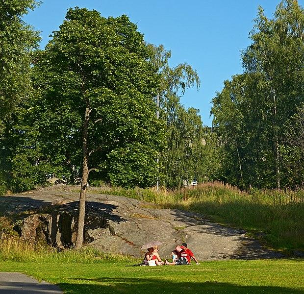 In Sibelius Park. Helsinki, Finland