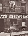 Atget, Eugène - Ladenschilder, Café – Restaurant, Montmartre (Zeno Fotografie).jpg
