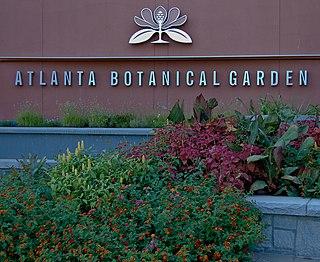 Atlanta Botanical Garden non-profit organisation in the USA
