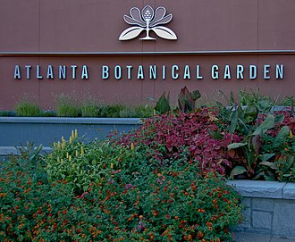 Atlanta Botanical Garden - Image: Atlanta Botanical Garden, Midtown Atlanta, Georgia, USA 3Oct 2010