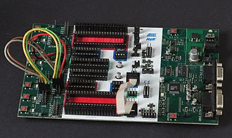 AVR microcontrollers - Atmel STK500 development board