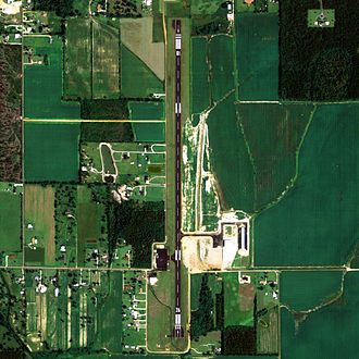 Atmore Municipal Airport - NAIP aerial image, 30 June 2006