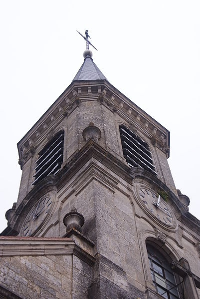 Auberive Church, Tower