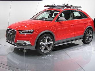 Audi Q3 - Audi Q3 Vail