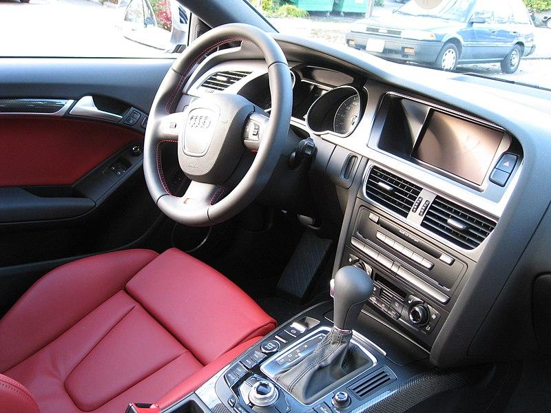 Datei:Audi S5 interior.jpg – Wikipedia