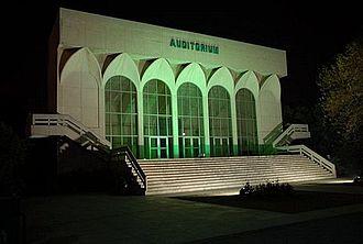 Allama Iqbal Medical College - Auditorium entrance of Allama Iqbal Medical College Lahore