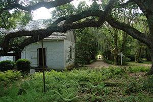 Audubon State Historic Site - Image: Audubon State Historic Site Oakly Plantation Back