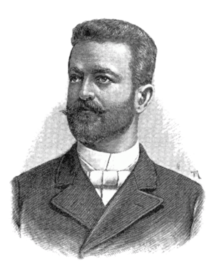 August Harambašić - August Harambašić (Theodor Mayerhofer, not later than 1891)