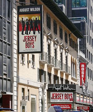 August Wilson Theatre - August Wilson Theatre showing Jersey Boys, 2007