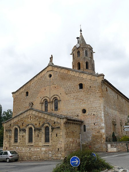 Our Lady's church of Aulon (Haute-Garonne, Midi-Pyrénées, France).