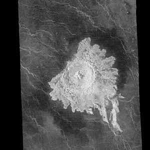 Aurelia (crater) - Image: Aurelia crater PIA00239