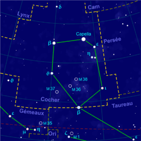 image illustrative de l'article Cocher (constellation)