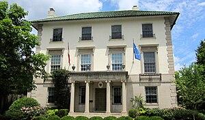 Appleton P. Clark Jr. - Image: Austrian ambassador's residence