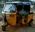 Auto rickshaw at Madhurawada 01.jpg