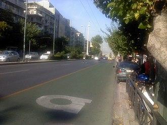 Gyzi - Alexandras Avenue in Gyzi