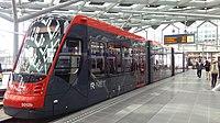 Avenio tram in Den Haag Centraal Station.jpg