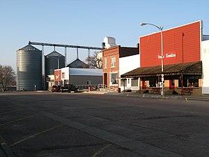 Avon, South Dakota - Main St. in Avon.