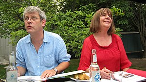 Julia Donaldson - Axel Scheffler and Julia Donaldson in the 2011 Children´s and Young Adult Program of the Berlin International Literature Festival