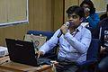 Ayan Choudhury - Workshop - Bengali Wikipedia Typing and Editing - Bengali Wikipedia 10th Anniversary Celebration - Jadavpur University - Kolkata 2015-01-09 2771.JPG