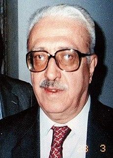 Tariq Aziz Iraqi Foreign Minister under Saddam Hussein
