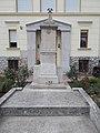 Bányász Emlékmű az 1944-ben Dachauba elhurcolt és ott hősi halált halt bányászok emlékére, 2017 Dorog.jpg