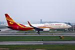 B-5712 - Hainan Airlines - Boeing 737-84P(WL) - CAN (14976672946).jpg