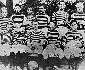 Alumni Athletic Club - Buenos Aires English High School team, circa 1899.