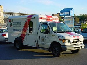 Emergency medical services in Canada - BC Ambulance ALS unit