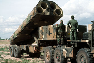 BGM-109G Ground Launched Cruise Missile - BGM-109G Gryphon Transporter Erector Launcher (TEL) showing 4 missile launch tubes