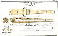 BL 6 inch Mk VI gun diagram