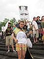 BP Oil Flood Protest NOLA BP Big Problem cape.JPG