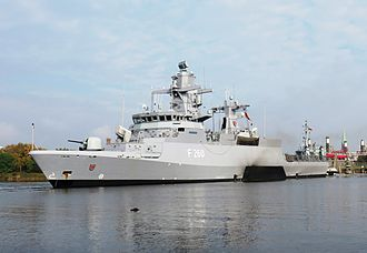 Corvette - Corvette ''Braunschweig'' of the German Navy