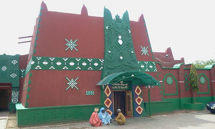 The Emir's palace in Bauchi