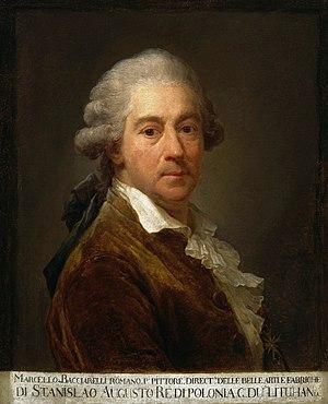 Marcello Bacciarelli - Self-portrait, 1793