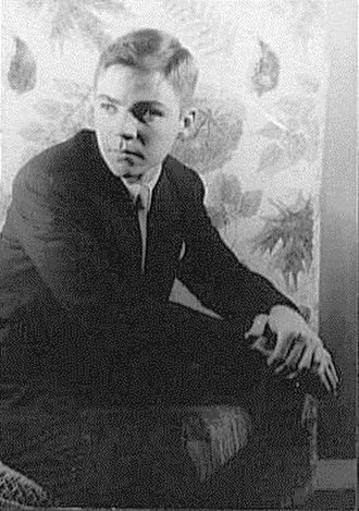 Christopher Isherwood - Don Bachardy at nineteen (1954), photographed by Carl Van Vechten